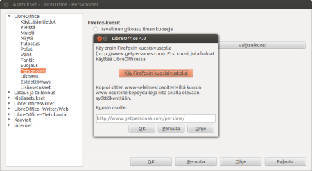 Asetukset - LibreOffice - Personointi_002